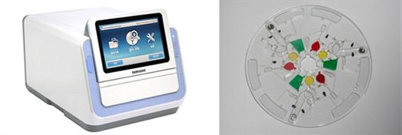 (주)삼성전자의 혈액검사장치와 Lab-on-a-Chip module